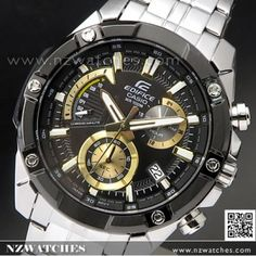 Casio Edifice, Sport Watches, Watches For Men, Limited Edition Watches, 100m, Metal Bracelets, Casio Watch, Gold Watch, Chronograph