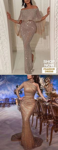 Sexy Open Shoulder Fork Dress - Fashion evening &wedding dresses for women, good choice for party, beautiful design and plus size y - Evening Dresses For Weddings, Event Dresses, Wedding Party Dresses, Occasion Dresses, Formal Dresses, African Evening Dresses, African Fashion Dresses, Evening Gowns, Dress Fashion