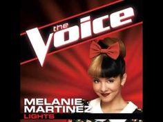 """Melanie Martinez: """"Lights"""" - The Voice (Studio Version)"""