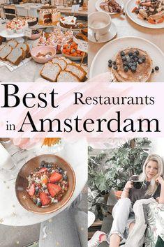 Restaurant Amsterdam, Amsterdam Food, Amsterdam Travel, Visit Amsterdam, Amsterdam Netherlands, Restaurant Restaurant, Amsterdam Things To Do In, Amsterdam Living, Eurotrip
