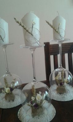 1st communion centerpiece made by me and my sister ...