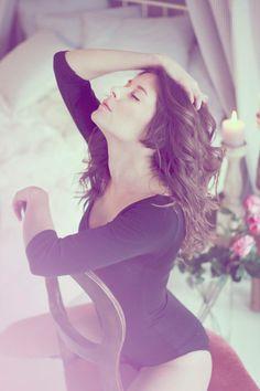 #Ana #sexy #rose #brunette