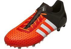 adidas ACE 15.1 Primeknit FG Soccer Cleats - Solar Orange