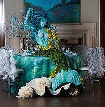 Ariel Little Mermaid Themed Wedding Ideas