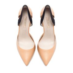 Nude Vamp Shoes | Zara