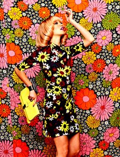 60's inspired hippie look! Eye catching right?!