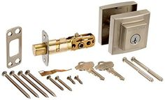 Baldwin 380SDB 15 SMT CP RCAL Prestige Spyglass Single Cylinder Deadbolt Featuring Smart Key, Satin Nickel Baldwin  Baldwin Prestige Collection For use on exterior doors where keyed entry security is needed Door preparation is 2-1/8″ cross bore and 1″ edge bore. Adjustable latch backset (2-3/8″ or 2-3/4″) Featuring SmartKey re-key technology and re-key the lock yourself in seconds in 3 easy steps. Baldwin Prestige Collection Baldwin Prestige Collection For use on exterior doors where..