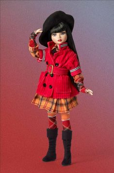 popular fashion doll Ellowyne Wilde