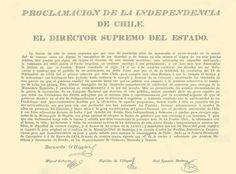 Acta de Proclamación de la Independencia de Chile