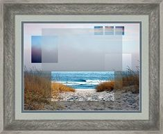 Beach Framed Print featuring the photograph Beach Collage by Steve Karol Art Prints For Sale, Framed Art Prints, Fine Art Prints, Canvas Prints, Collage Frames, Collages, Beach Frame, Art Sites, Art Market