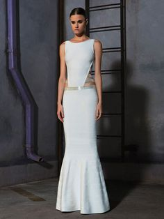#White #Prom #Evening #Gown #Long #Maxi #Dress