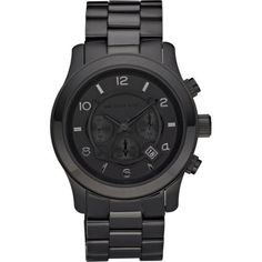 Michael Kors Watch...love this allover gunmetal black watch