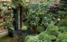Julianne Moore's garden