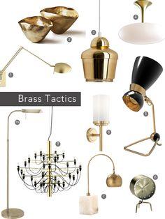 Brass #lighting