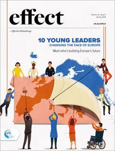 Effect magazine, illustration: Giordano Poloni / art direction: Matteo Riva