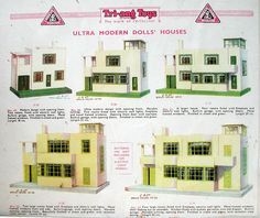 Triang Ultra Modern Dolls' House