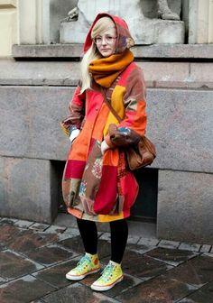 Interesting coat