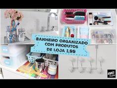BANHEIRO ORGANIZADO COM PRODUTOS TOP DE LOJAS DE UTILIDADES ( 1,99) | Or...