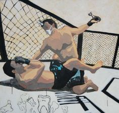 Zbigniew Sikora, 'Going dental I', 100x100 cm, acrylic on canvas, 2012