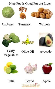 Liver Shrinking Diet Foods