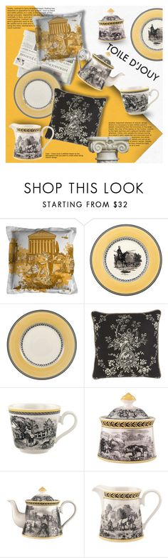 """""""Untitled #1381"""" by blackfury ❤ liked on Polyvore featuring interior, interiors, interior design, home, home decor, interior decorating, Timorous Beasties, Villeroy & Boch, Sherry Kline and homedecor"""