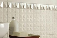 Tile Products by Collection  Ceramic Wall Tile  AAB White Relief Tile