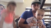 Watch Babies have fun with Dancing Daddy's Day Care while dancing to Maroon 5's sugar track via geniushowto.blogspot.com funny baby videos