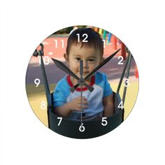 Personalize this clock with your own photo. You can also add text. Click on the Customize It button to resize or position your photo. Please message me with any questions. I also have other color clock numbers such as black and blue that may better suit your photo. #personalized #photo #photograph #kids #photos #baby #photos #kids #photo #baby #photo #for #grandma #for #mom #for #grandpa #for #grandparents #baby #newborn #kids #family #picture #add #your #photo #make #it #yourself #create…