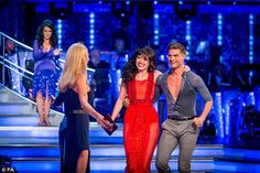 Popular: A record 10 million tuned in to watch Strictly Come Dancing on Saturday night. Pictured:Daisy Lowe and Aljaz Skorjanec