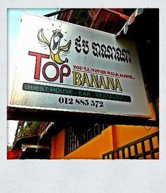 Sounds like fun.... Top Banana Guesthouse - Phnom Penh, Cambodia