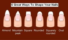 acrylic nail rounded - Google Search