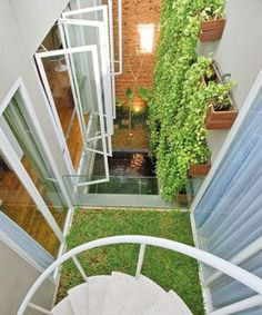 Trendy garden architecture terrace spaces In order to have a great Modern Garden Decoration, it's useful to be … Small House Garden, Home And Garden, Small Terrace, Terrace Garden, Small Patio, Garden Design, House Design, Interior Garden, Garden Architecture