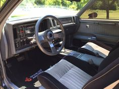 Learn more about Unmodified: Mile 1987 Buick Grand National on Bring a Trailer, the home of the best vintage and classic cars online. Buick Grand National Gnx, Buick Regal, Nice Cars, Classic Cars Online, Hot Rods, Badass, Chevrolet, Transportation, Vehicle