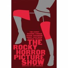 The Rocky Horror Picture Show 12x 18 inches poster by Suffragette City at Bouf.com