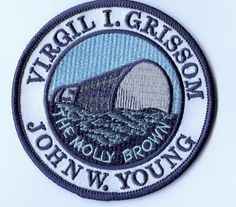 """""""The  Molly Brown"""" was the name given to the Gemini 3 spacecraft by mission commander Gus Grissom, as a nod to his Mercury craft, the Liberty Bell 7, which sank shortly after splashdown."""