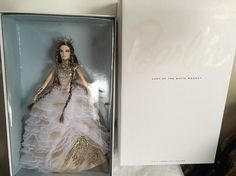 Lady of the White Woods Gold Label Collector Barbie Doll New In Box