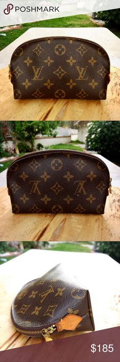 a89fd0f8cec0 Authentic Louis Vuitton monogram cosmetic pouch 100% AUTHENTIC  ships  immediately! Add this gorgeous