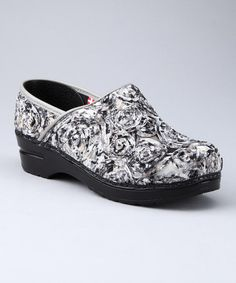 Take a look at this Gray Professional Sapphire Clog - Women by Sanita Clogs on #zulily today!