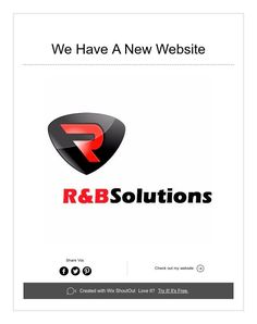 We Have A New Website