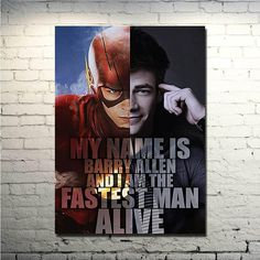 The Flash Silk Poster