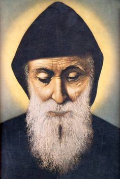 MPOWER/// مار مارون عنّايا - Saint Charbel Annaya - Official website of the Saint Maron-Annaya monastery - monastere Saint Maron-Annaya Tombeau de Saint Charbel - Mar Charbel - del Monasterio Santo Maron, Annaya, Sepultare de Santo Charbel Maronite Church, Modern Church, Missionaries Of Charity, St Charbel, Religion, Blessed Virgin Mary, Catholic Saints, Religious Art, Our Lady