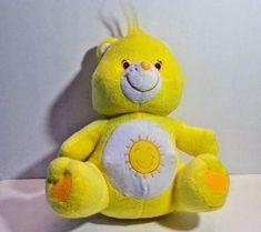 Care Bears Funshine Bear 2004 Yellow Stuffed Animal Toy