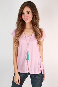 Enjoy where life takes you in a tee that's so pretty it's sure to become a favorite! Wear it with distressed skinny jeans or denim shorts for a casual look that's perfect for anything!