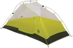 Winner of Backpacker's 2015 Editors' Choice Award for its built-in LED lights, this backpacking tent lets you go from dark to light with a simple click of a button. Hiking Tent, Backpacking Tent, Go Hiking, Hiking Boots, Best Tents For Camping, Cool Tents, Tent Camping, Cold Weather Tents, Ultralight Tent