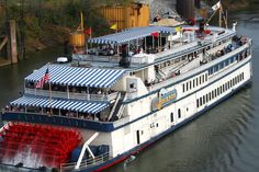 Nashville Showboat Lunch or Dinner Cruise on the General Jackson provided by Gray Line Tours Nashville Tours, Nashville Attractions, Nashville Vacation, Visit Nashville, Nashville Tennessee, Visit Tennessee, Cumberland River, Local Hotels, Grand Ole Opry