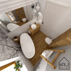 Bath Caddy, Flat Design, Bathroom Inspiration, Modern Bathroom, Home Furniture, New Homes, Sweet Home, House Design, Interior Design