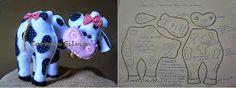 ARTE COM QUIANE - Paps,Moldes,E.V.A,Feltro,Costuras,Fofuchas 3D: 20 moldes que vc precisa ter