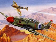 Israeli Avia S-199 vs Egyptian Spitfire over Israel 1948-49