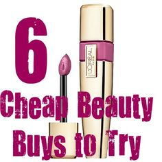 6 Cheap Beauty Buys to Try