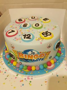 bingo cake by sprinkle me silly for all your cake decorating